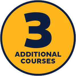 3 additional courses