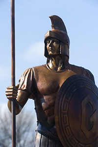 The Spartan Statue